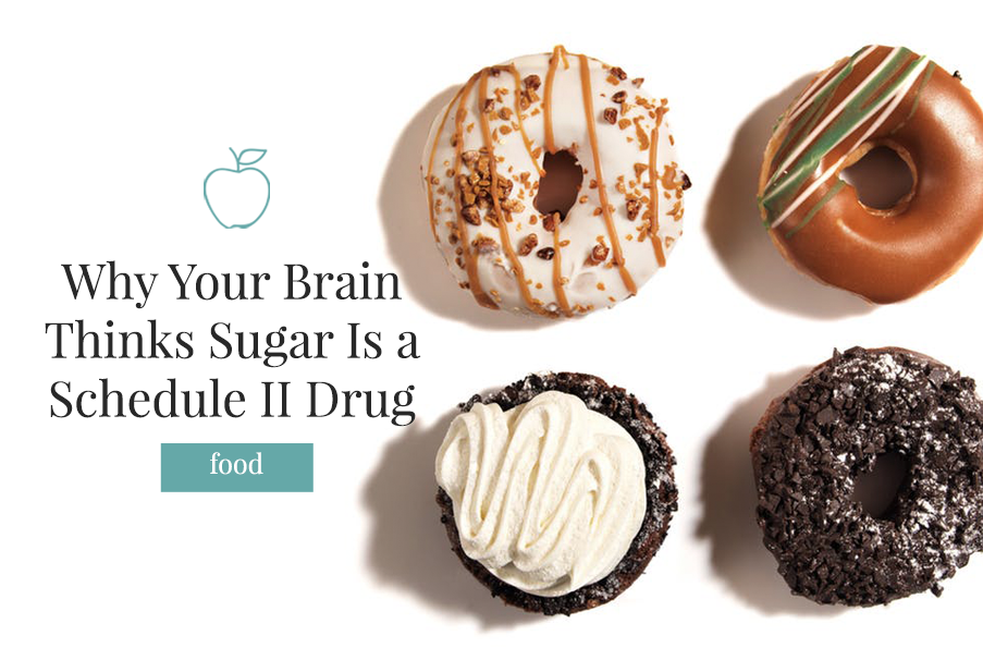Why Your Brain Thinks Sugar is a Schedule II Drug