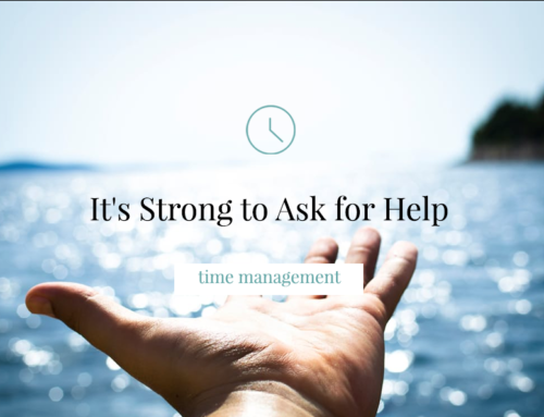 It's Strong to Ask for Help