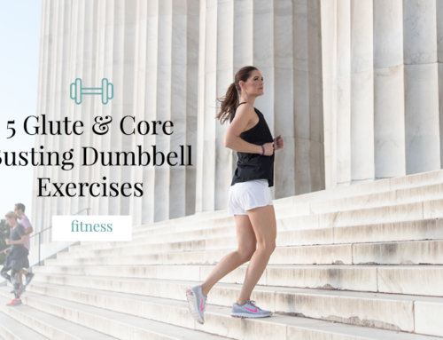 5 Glute & Core Busting Dumbbell Exercises