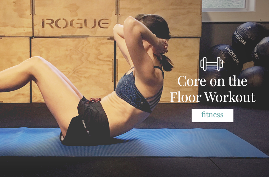 Core on the Floor Workout