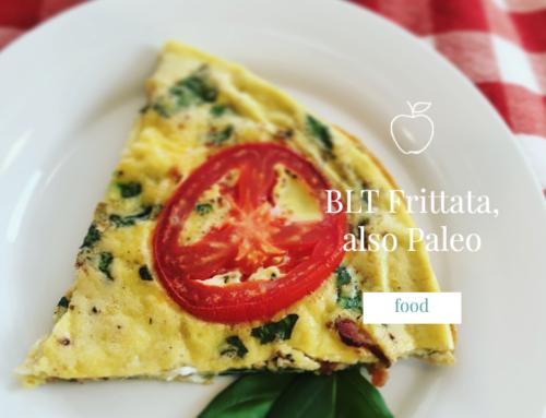 BLT Frittata, also Paleo