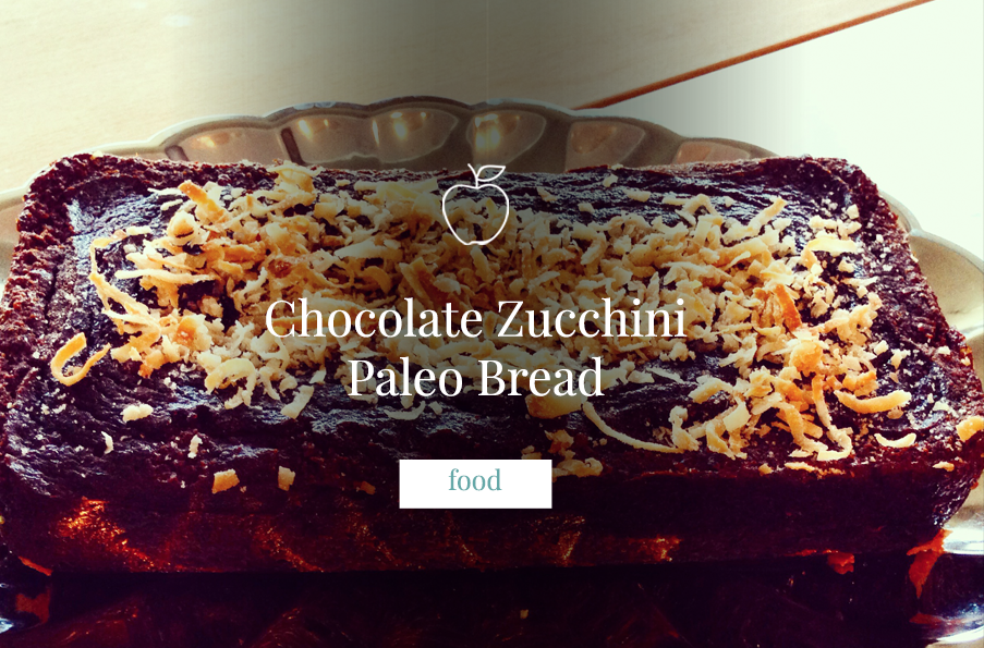 Chocolate Zucchini Paleo Bread