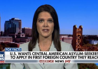 FOX News, America's News HQ with Jenna Ellis