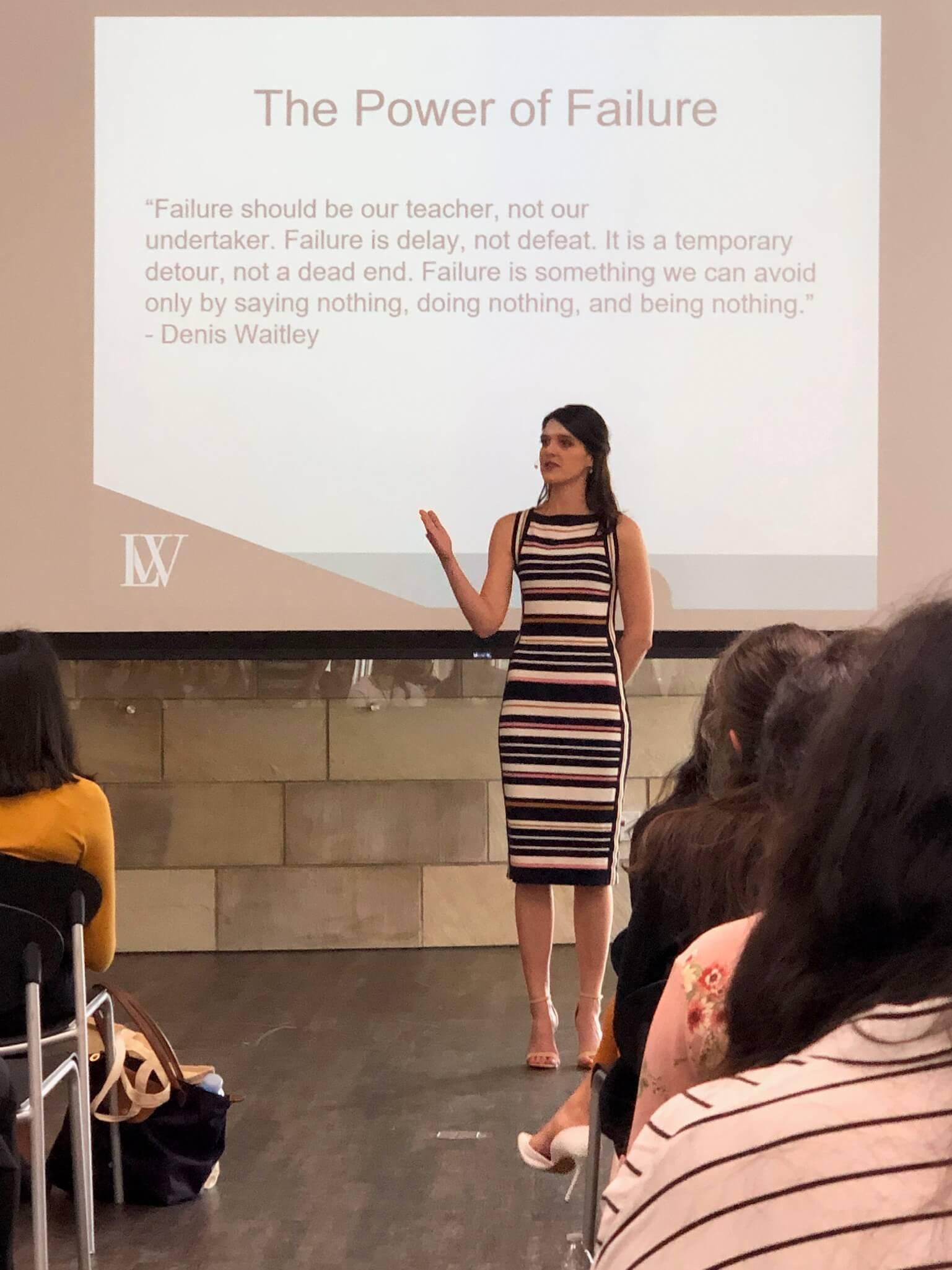 LAW keynote speaker, Own It1, UC Davis Women in Business