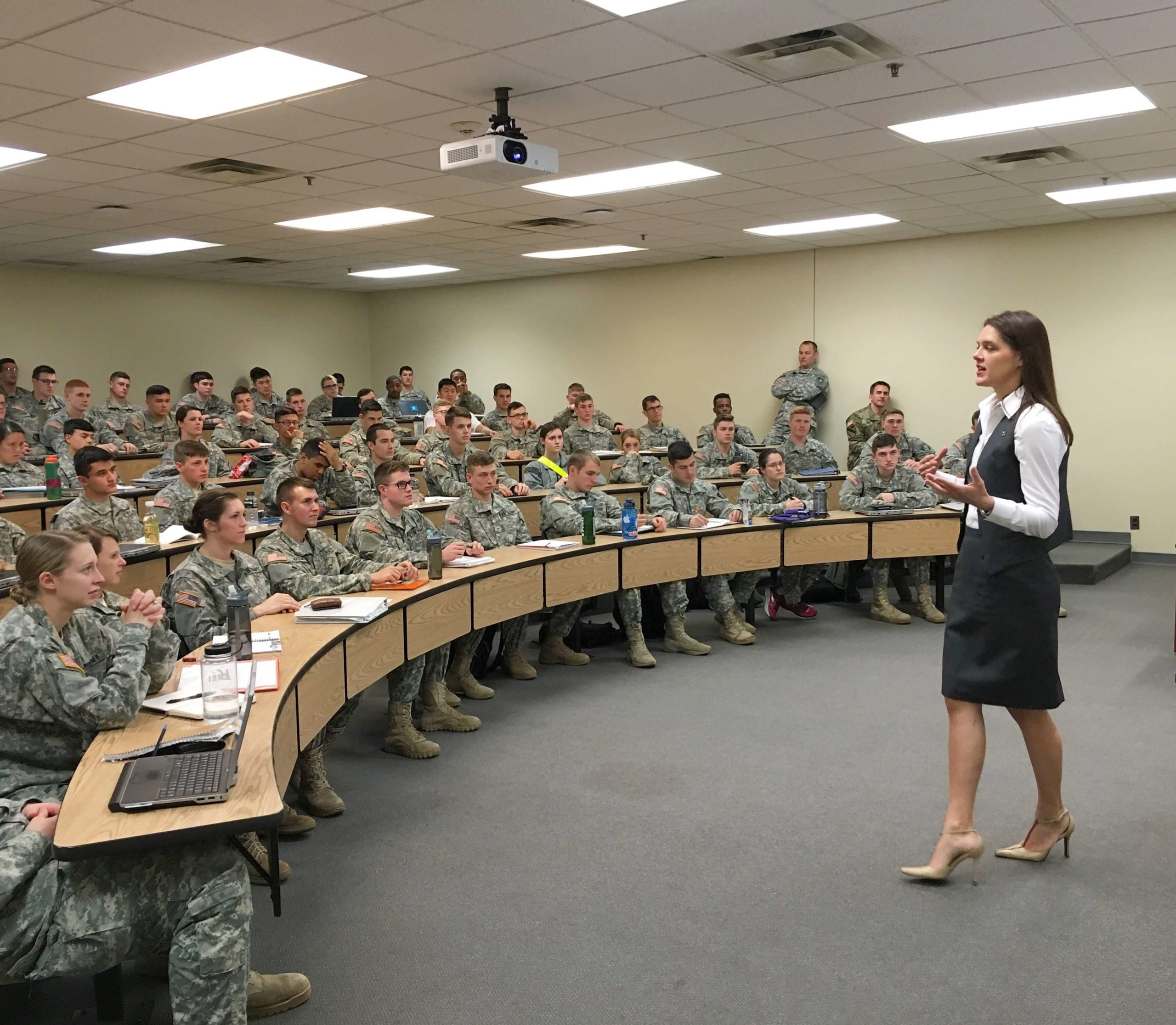 LAW teaching cadets about the importance of US elections at West Point, United States Military Academy