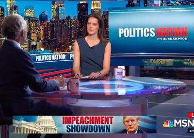 MSNBC, Politics Nation with Rev. Al Sharpton & Holly Turner