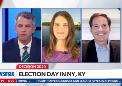 Newsmax, Newsmax Now with Mike Halperin