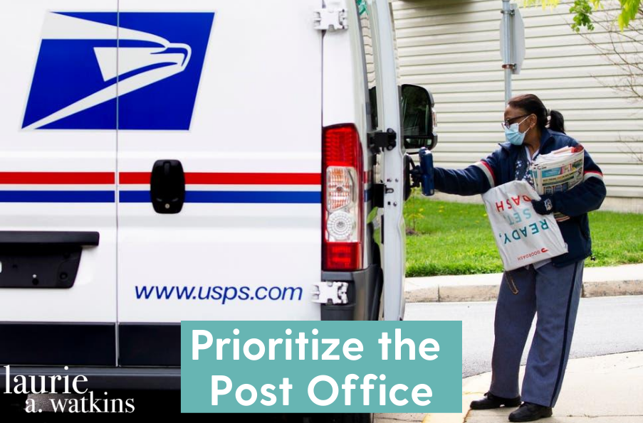 Prioritize the Post Office