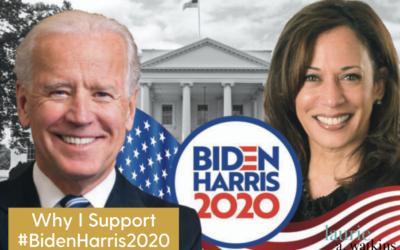 Why I'm Supporting #BidenHarris2020