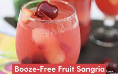 Booze Free Fruit Sangria