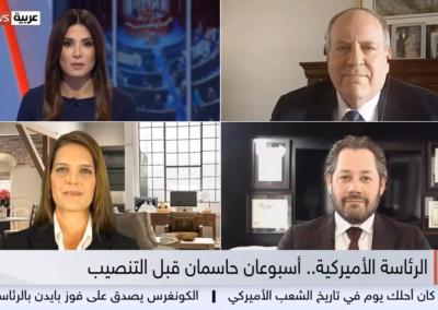 SkyNews Arabia with Doug Burns and Andrew Cherkasky