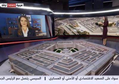 Sky News Arabia – President Biden Visit to Pentagon