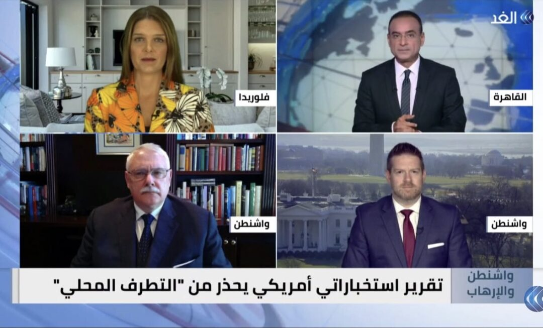 Alghad TV with Norman Roule and Matthew Brodsky